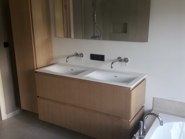 Project Roeselare badkamer