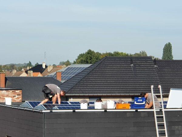 Zonnepaneel installaties heule 43 woningen